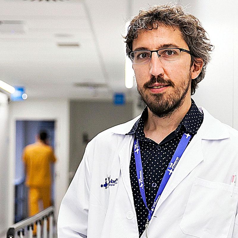 Pere Barba, coordinador del Programa de Terapia CAR-T. Foto: Jaume Cosialls