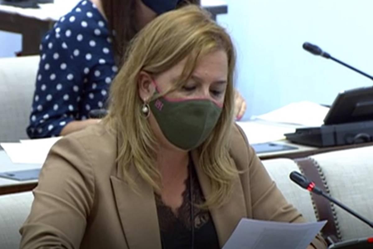 Elena Castillo, diputada del PP en el Congreso de los Diputados.