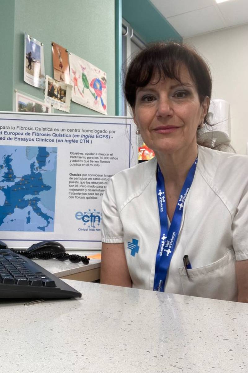La pediatra neumóloga Silvia Gartner.