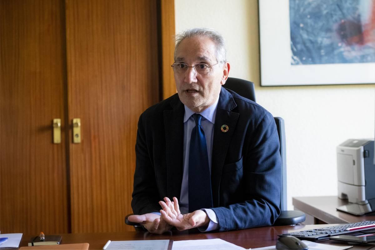 Vicenç Martínez, director de Ordenación Profesional del Ministerio de Sanidad (Foto: Mauricio Skrycky)
