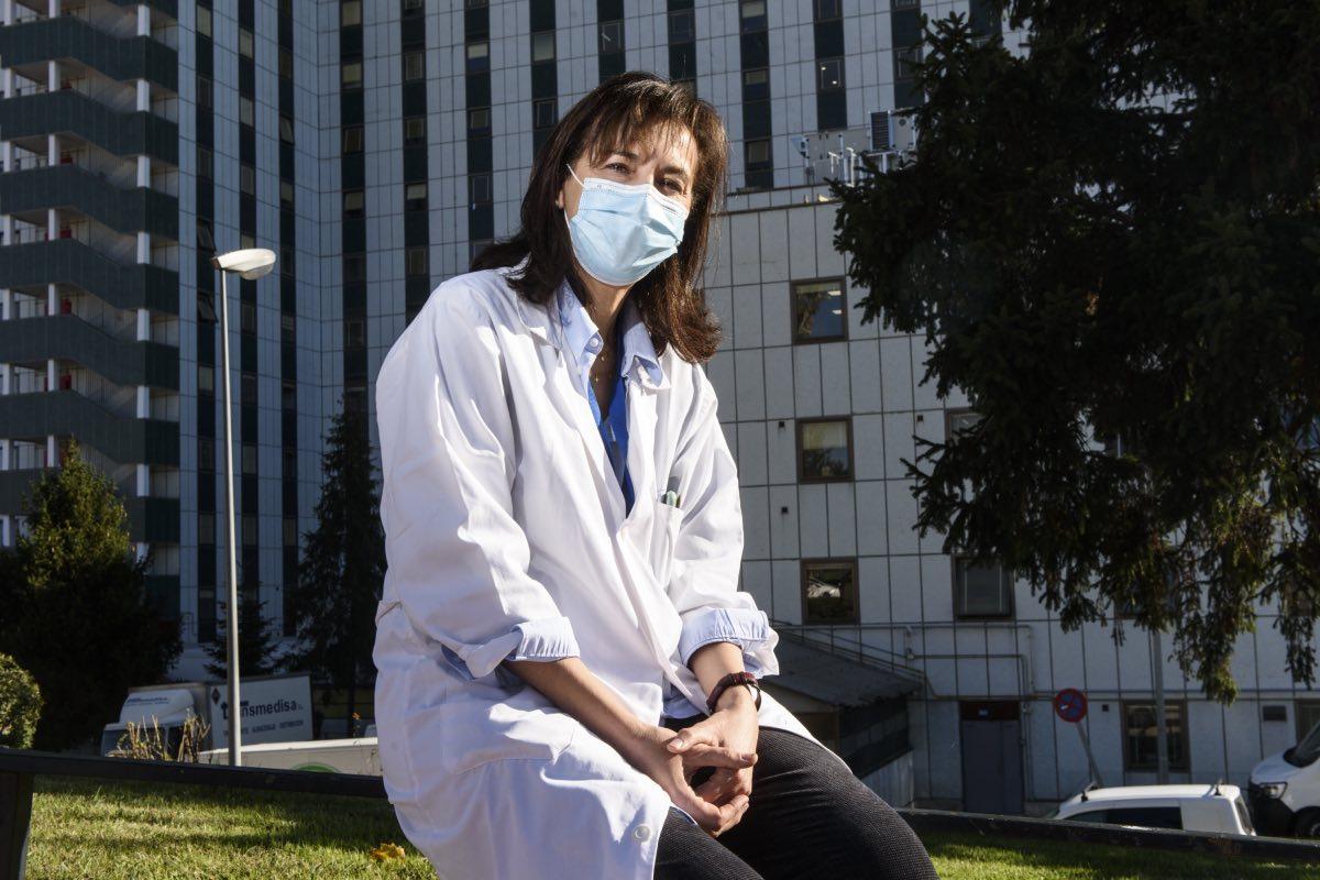 Pilar Garrido, presidenta de la Federación de Asociaciones Científico Médicas Españolas (FOTO: Luis Camacho).
