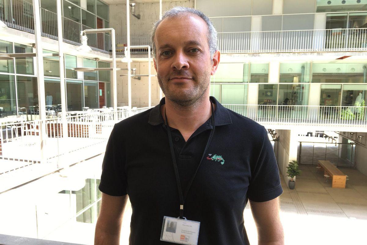 Aleix Sala Vila, del Grupo de investigación en Riesgo cardiovascular y nutrición del IMIM. FOTO: IMIM.