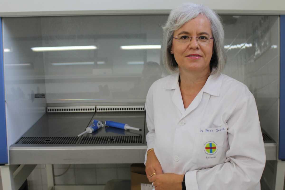 Teresa Pérez es un referente internacional en hepatitis E. Foto: CEU