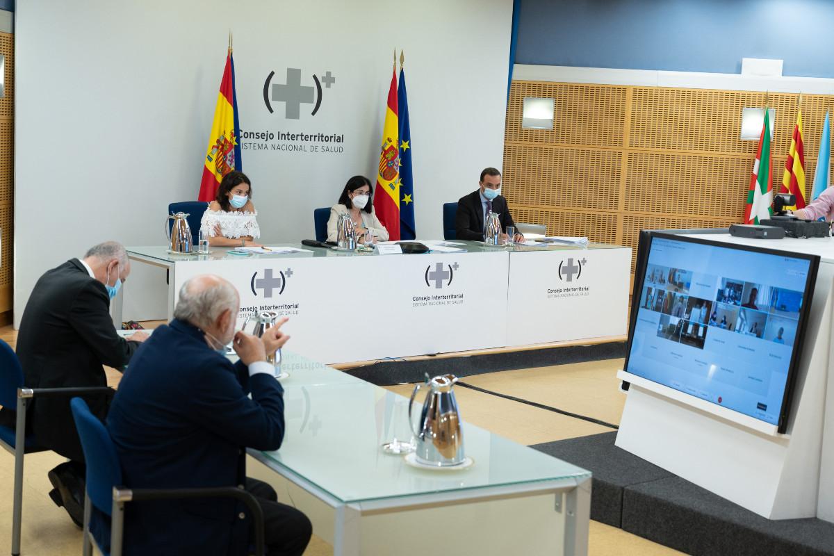 Reunión del Consejo Interterritorial del SNS del 28 de julio