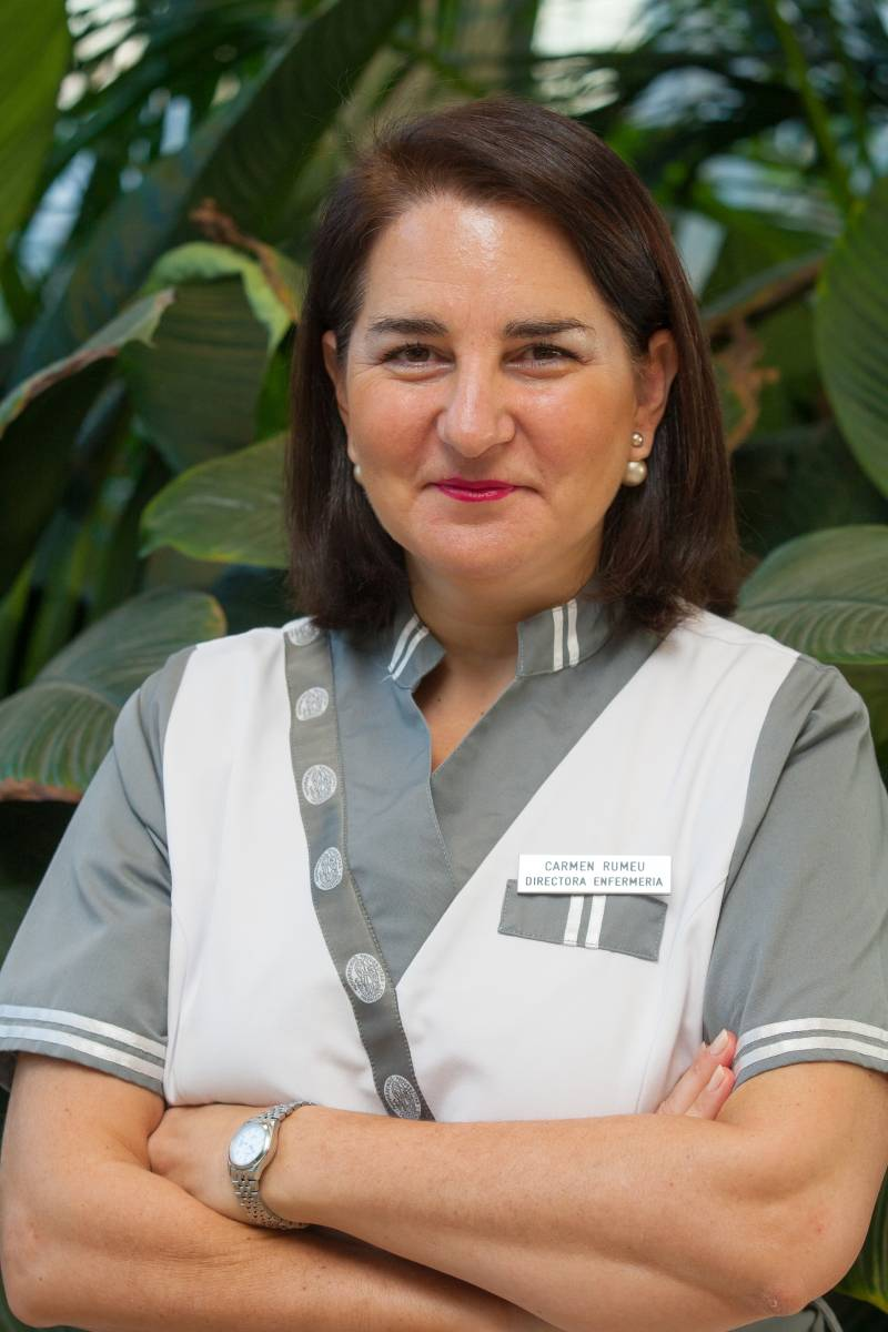 Carmen Rumeu, directora de Enfermer�a de la Cl�nica Universidad de Navarra.
