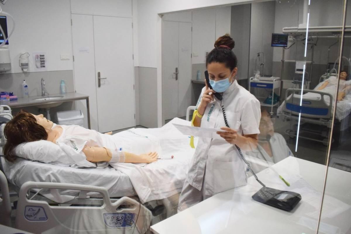 Primera ECOE piloto en el Grado de Enfermer�a de la Facultad de Manresa.