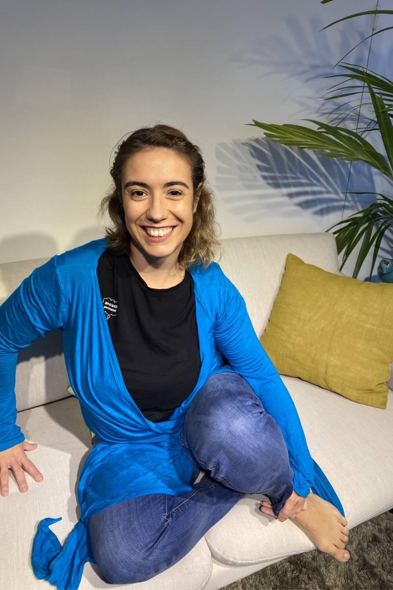 Sara Mart�n-Caro, matrona y emprendedora en Ancara Perinatal.