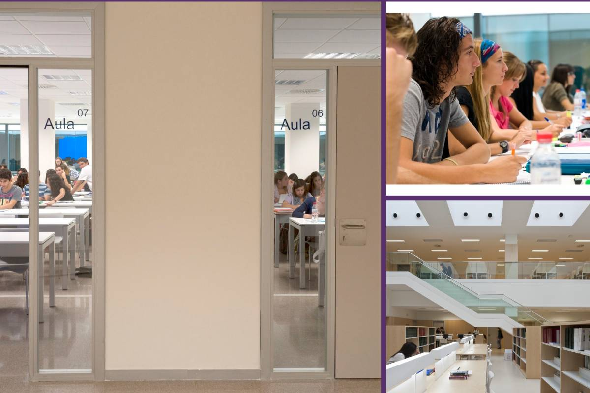 Escuela de Enfermer�a La Fe de Valencia, adscrita a la Universitat de València (UV).