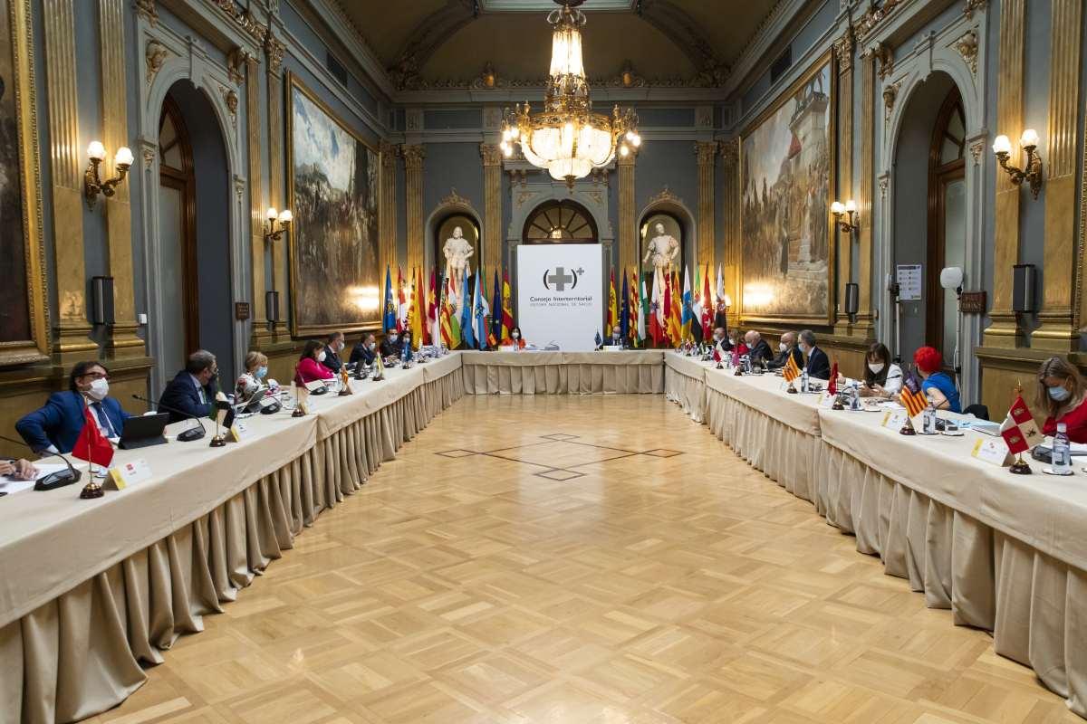 El pleno del Consejo Interterritorial del SNS reunido el pasado 30 de junio en Madrid.