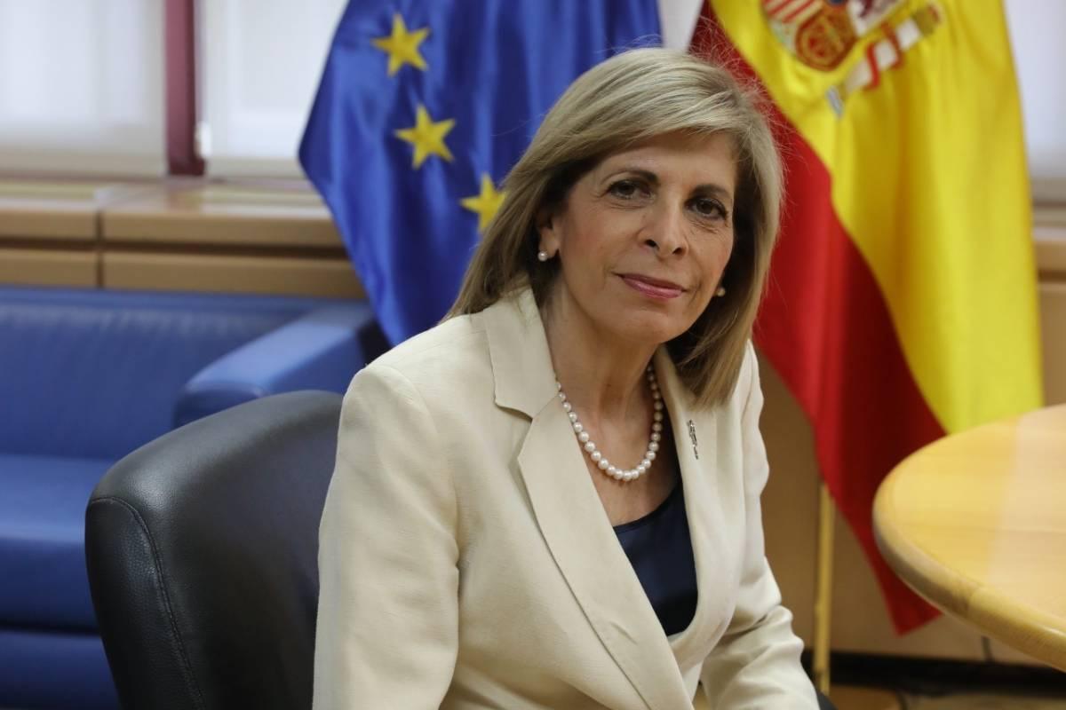 Stella Kyriakides, comisaria europea de Salud y Seguridad Alimentaria (FOTO: Antonio Heredia).