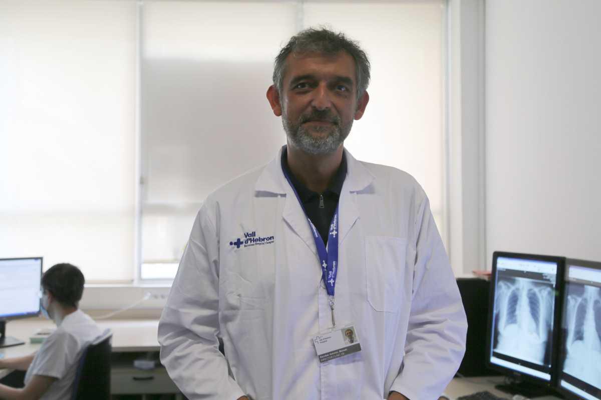 Manuel Escobar, director clínico del Servicio de Diagnóstico por la Imagen del Vall d'Hebrón. Foto: Hospital Vall d'Hebron