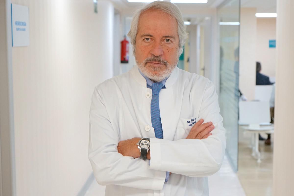 Francisco Villarejo,el jefe de Servicio de Neurocirugía del Hospital La Luz de Madrid.