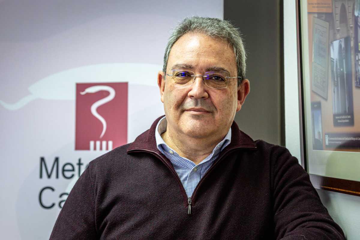 Xavier Lleonart, secretario general de Médicos de Cataluña.