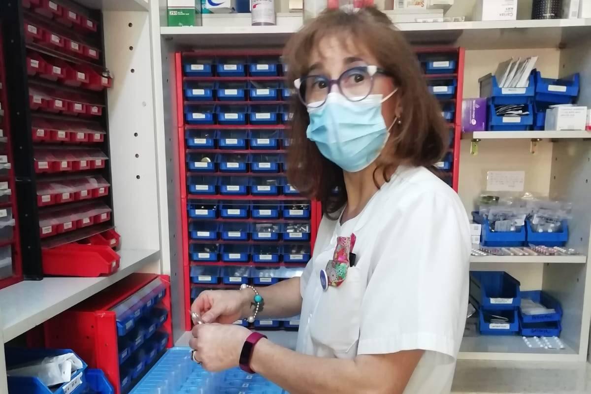 Yolanda Temprano es enfermera de Salud Mental de la Unidad de Patolog�a Dual en la Cl�nica de Nuestra Señora de la Paz (Madrid).