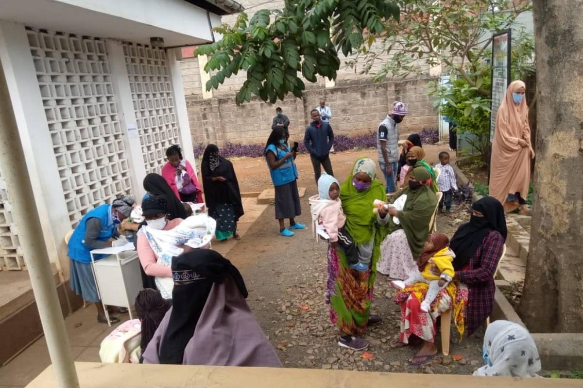 Farmamundi trabaja desde hace años para afianzan los derechos de las mujeres en Nairobi.