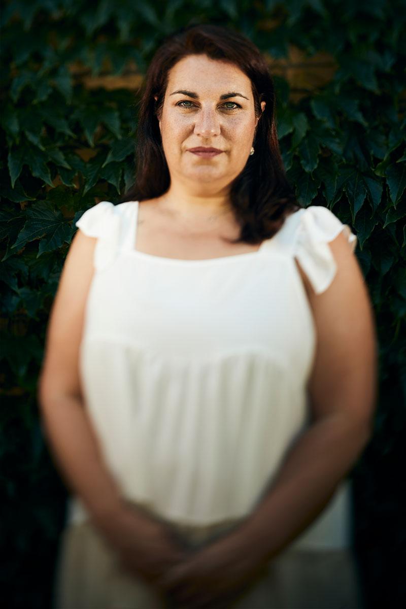 Irene Garc�a, enfermera y paciente de covid persistente.
