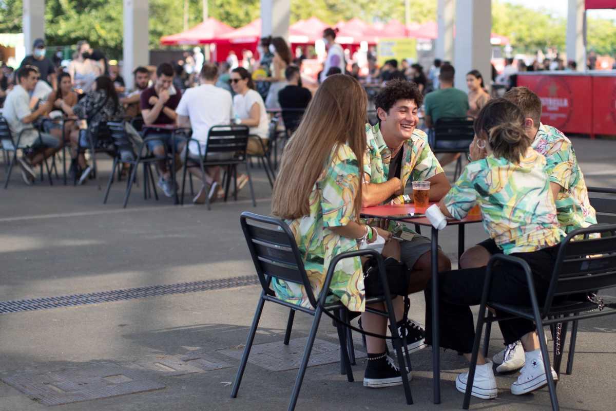 Estos días asisten 25.000 jóvenes, previo test de antígenos, al Festival Cruïlla de Barcelona.