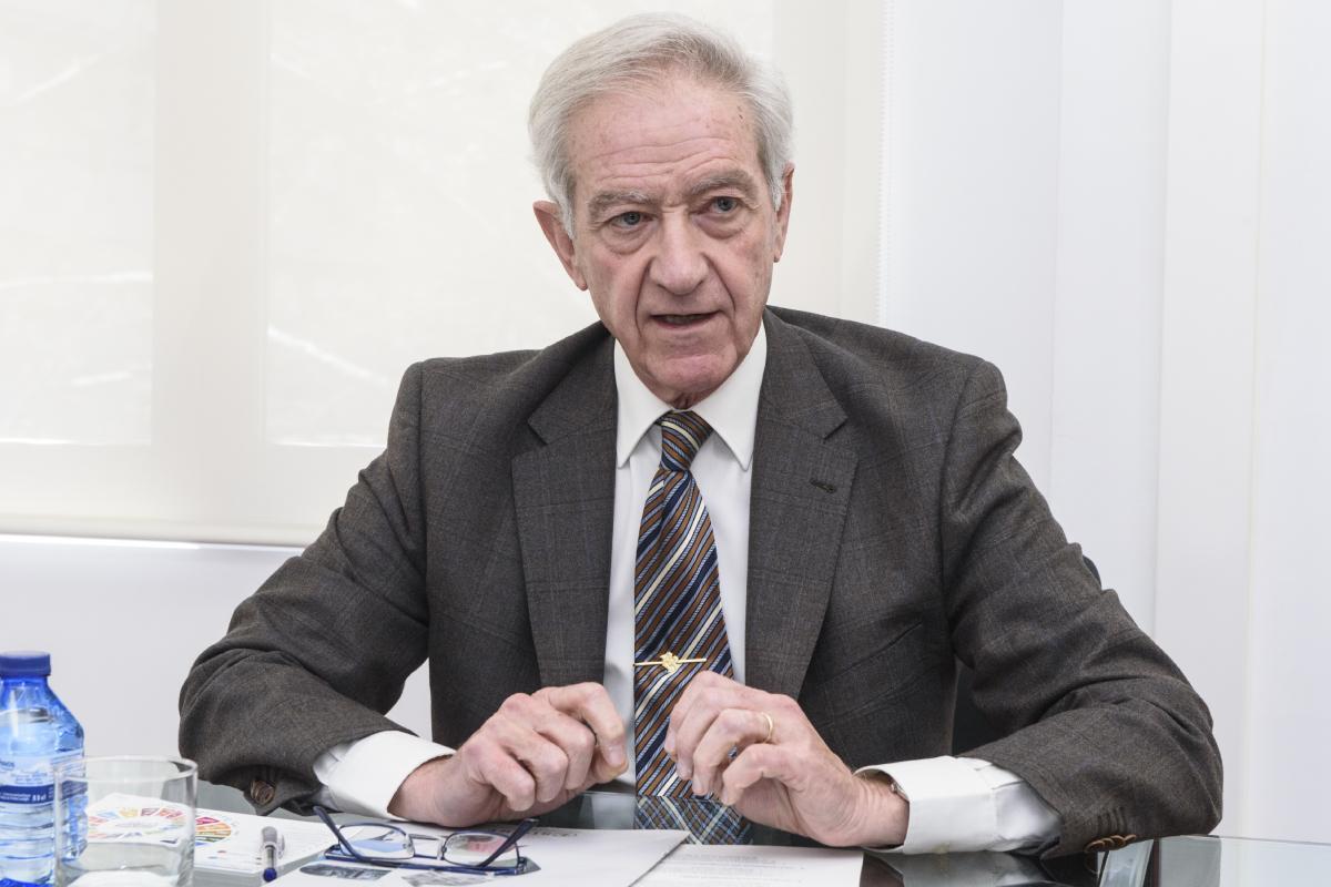 Juan Carlos Mampaso, director general de Sigre. (Luis Camacho)