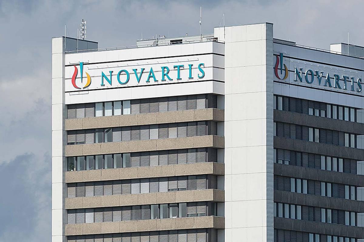 Sede de Novartis en Basilea, Suiza.
