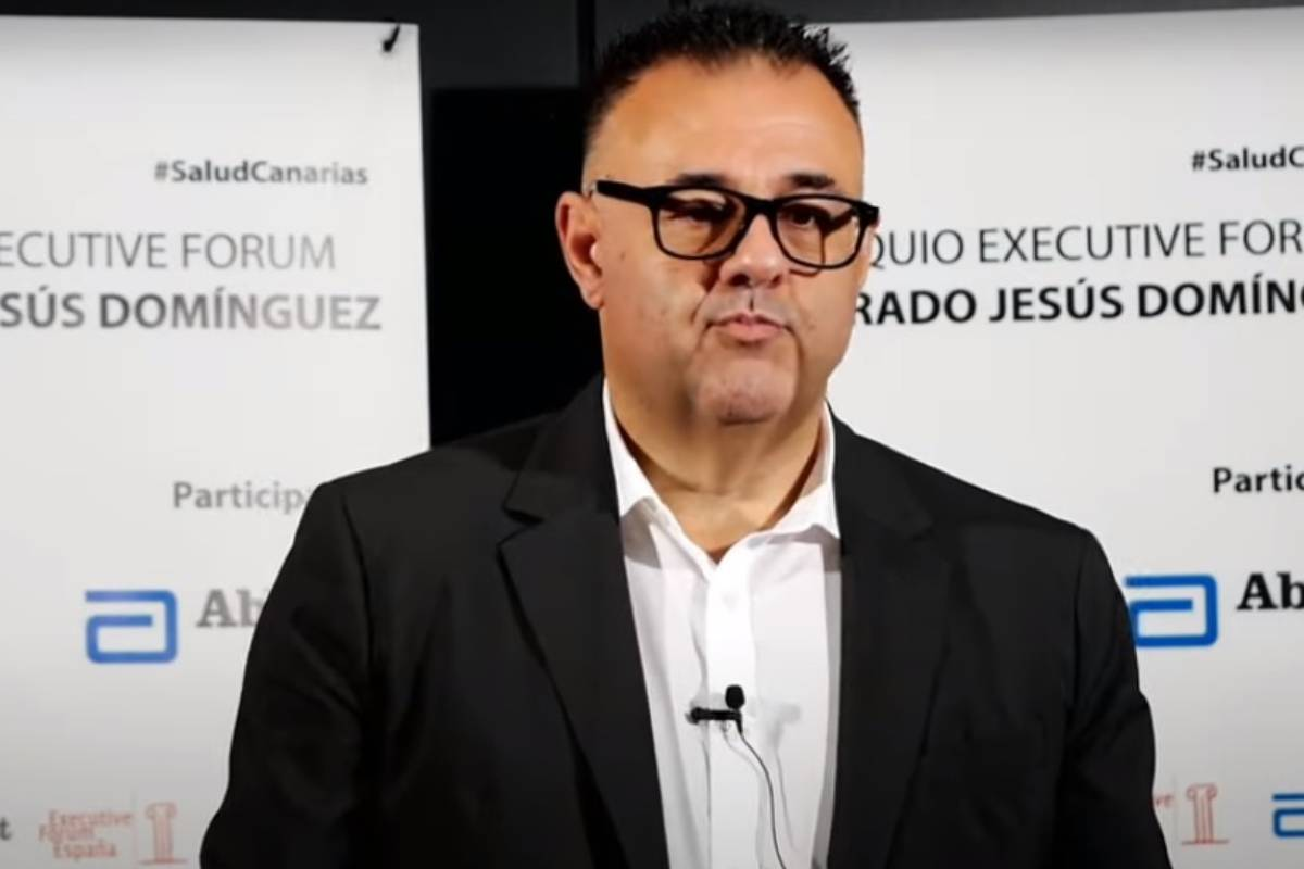Conrado Jesús Dom�nguez, director general del Servicio Canario de Salud.