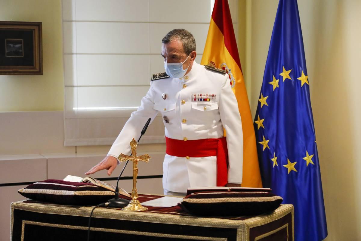 Juan José Sánchez Ramos ha tomado posesión como General de División Farmacéutico del Cuerpo Militar de Sanidad.