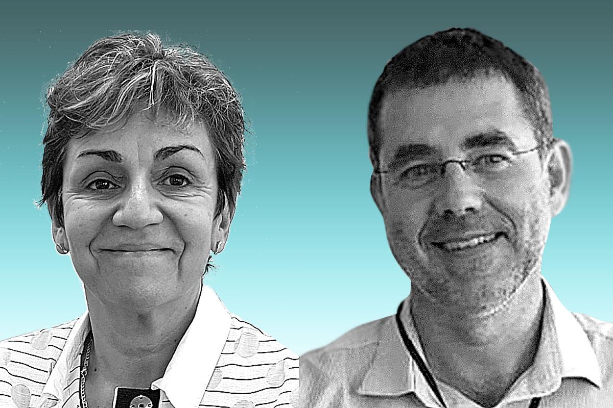 Anna Sureda, del departamento de Hematolog�a del Institut Catalá d´Oncolog�a-Hospitalet, Idibell. Universiadad de Barcelona, yJosé Luis Piñana, deldepartamento de hematolog�adel Hospital Cl�nico Universitario de Valencia, Incliva.