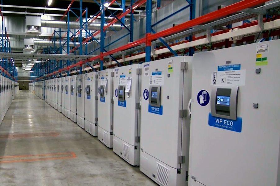 Biovac obtendrá la sustancia farmacológica de las instalaciones en las que Pfizer y BioNTech fabrican en Europa, como las de la imagen en Puurs (Bélgica).