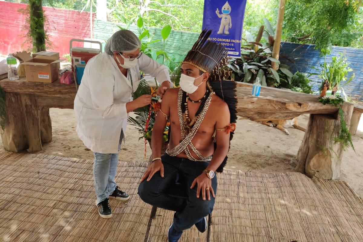 Vacunación covid en Brasil
