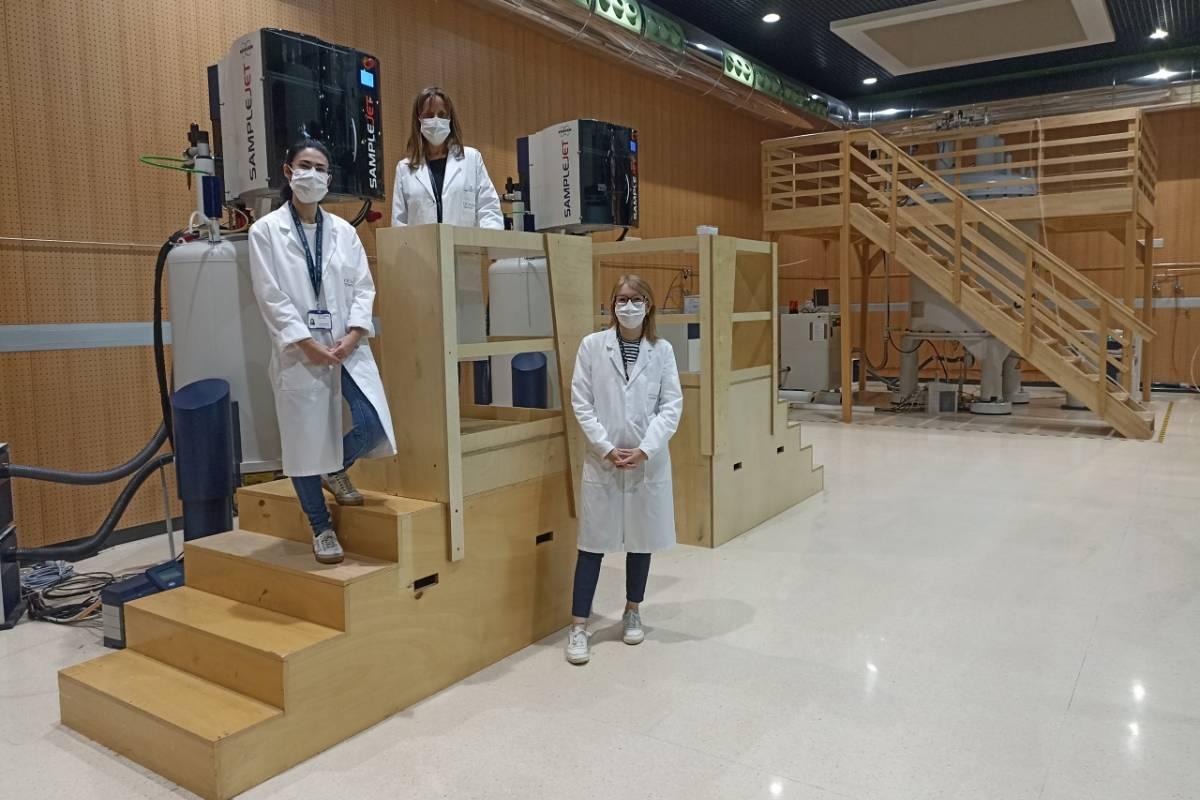 Investigadores del CIC bioGUNE.
