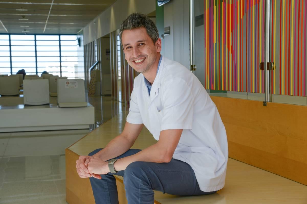Daniel Natera, neuropediatra y miembro de la Unidad de Enfermedades Neuromusculares del Hospital Sant Joan de Déu de Barcelona.