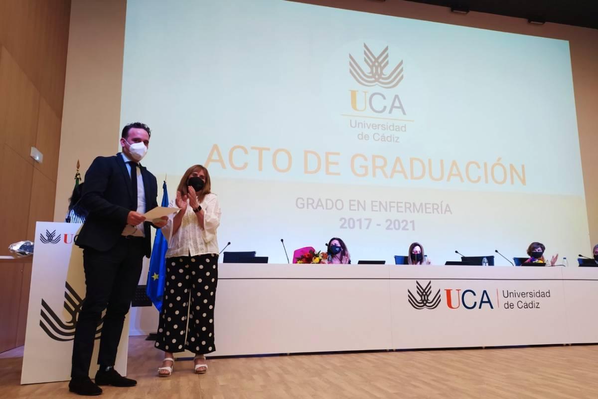 Acto de entrega de los premios concedidos por las facultades de Enfermer�a de Algeciras y de Enfermer�a y Fisioterapia de Cádiz, pertenecientes la Universidad de Cádiz.