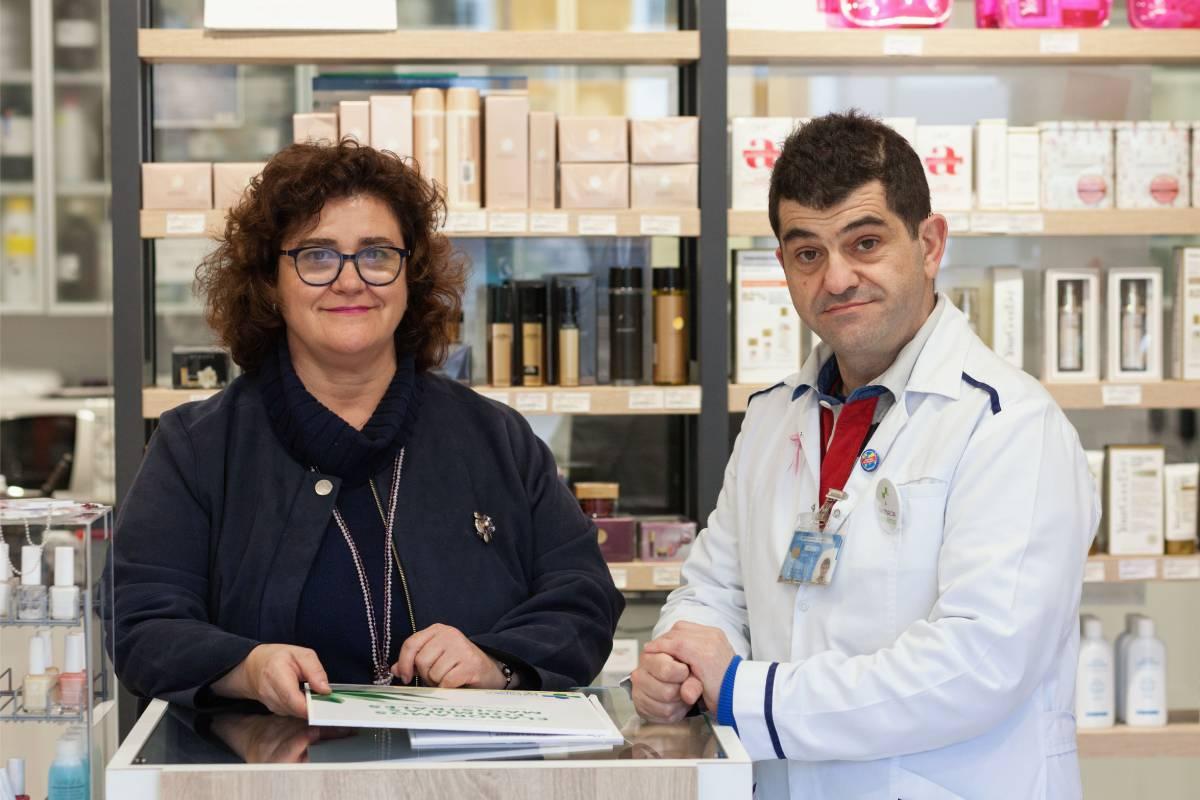 Los farmacéuticos Covadonga y Mart�n Ram�rez de Diego, creadores de su propia gama de cosméticos.