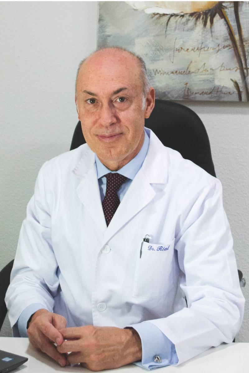 Rodrigo Rial, especialista en Angiolog�a y Cirug�a Vascular.