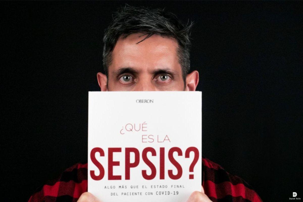 Eduardo López-Collazo, responsable científico de IdiPAZ, explica la relevancia del estudio de esta afección. FOTO: Daniel Rote.