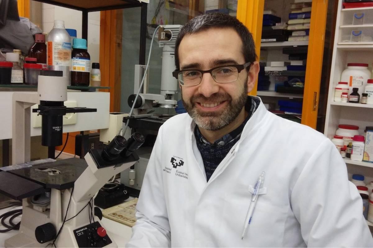 Iker Badiola, de la Facultad de Medicina y Enfermer�a de la Universidad del Pa�s Vasco(UPV/EHU).