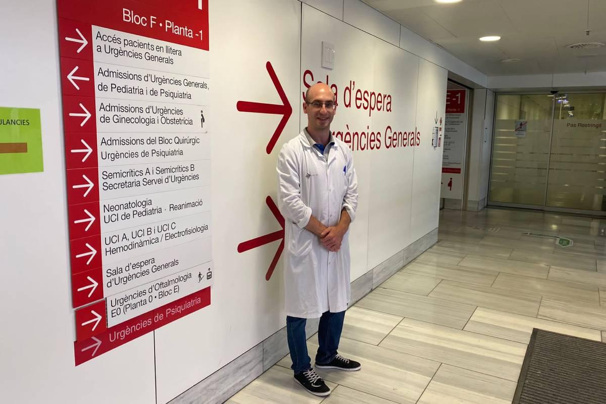 El farmacéutico Jesús Ruiz Ramos, del Hospital Santa Creu i Sant Pau (Barcelona).