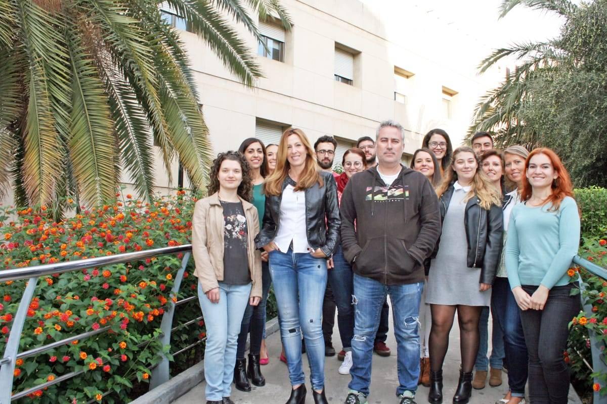 Investigadores participantes en el estudio sobre la metformina y su influencia en la mitocondrias.