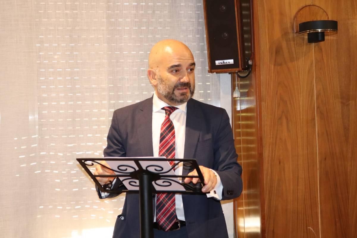 Javier Herradón, presidente del Concyl y del COF de León.