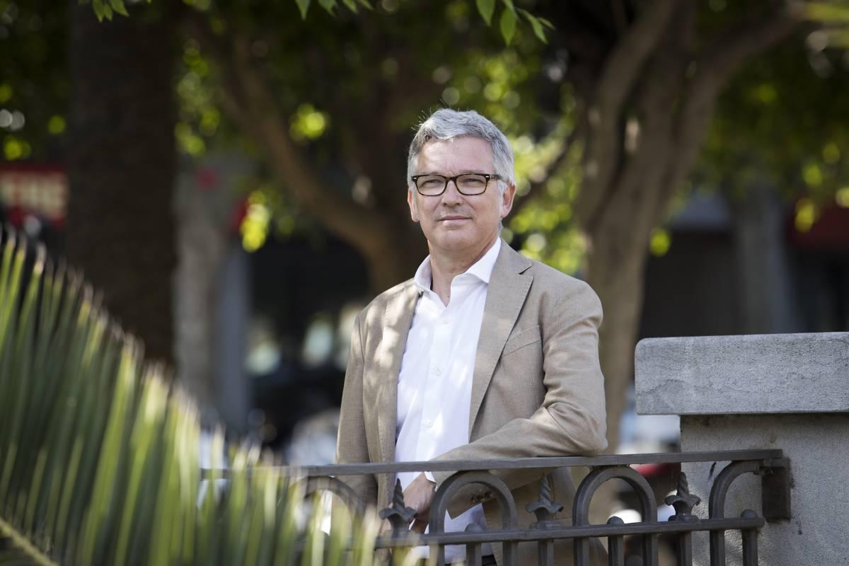 Ramón Garc�a Janer, presidente del Colegio de Veterinarios de las Islas Baleares,