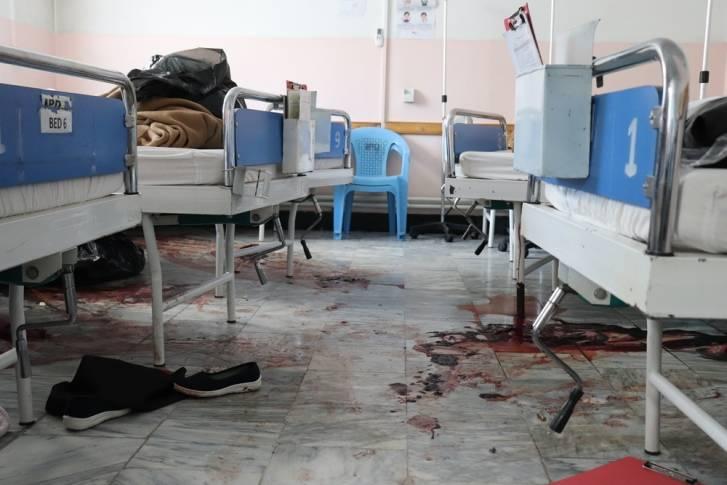 Ataque al hospital Dashte Barchi de Maternidad en Kabul, el 12 de mayo de 2020. /Frederic Bonnot-MSF.