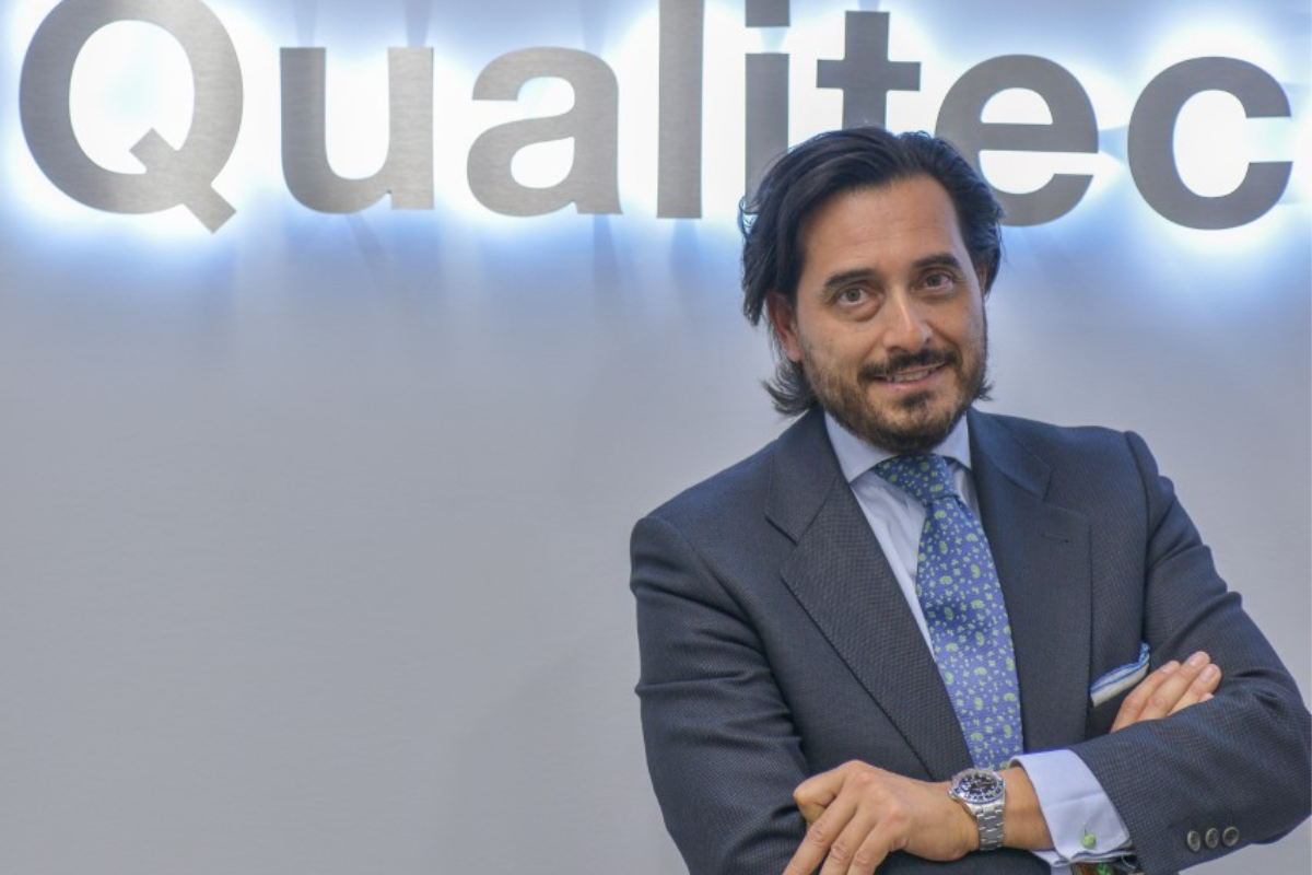 Óscar Mesa, CEO de QualitecFarma.