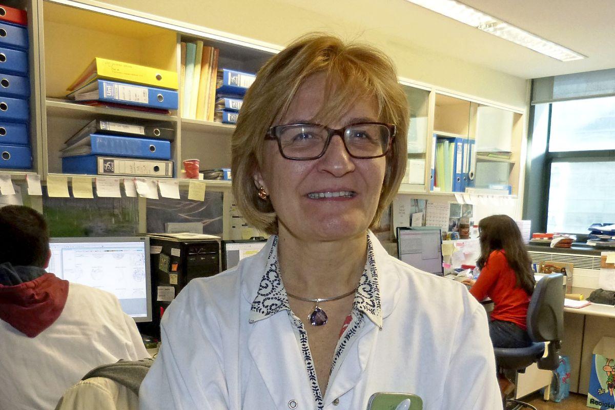 Rosa Noguera, investigadora del INCLIVA y de CiberOnc, coordina el nuevo estudio. FOTO: DM.