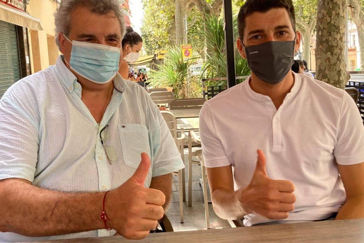 Antoni Torres, presidente de Fefac, y Oriol Mitjà, investigador del estudio.