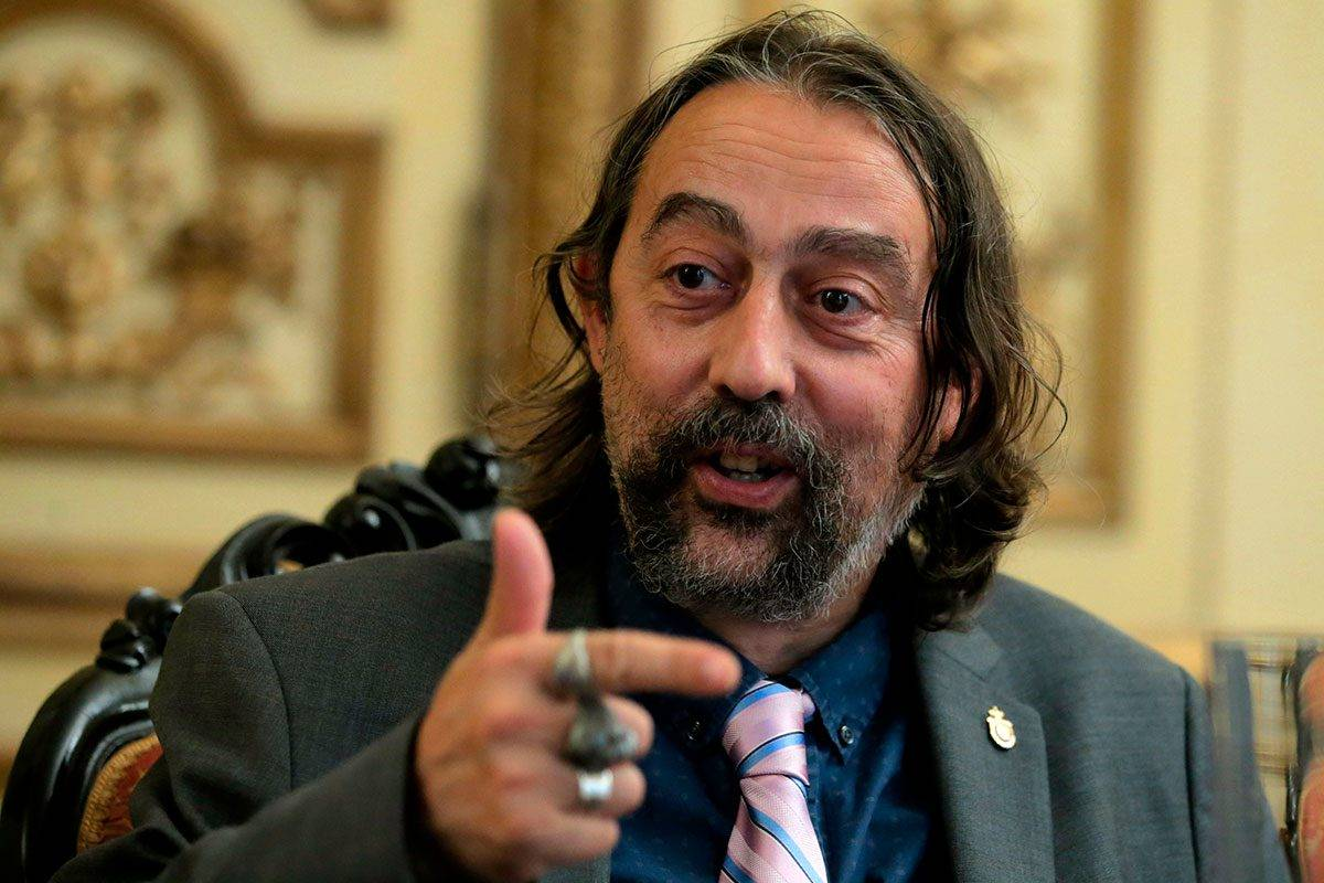 Adolfo Garc�a-Sastre, profesor del Departamento de Microbiolog�a y director del Instituto de Salud Global y Patógenos Emergentes en el Hospital Mount Sinai de Nueva York (EEUU).JAVIER BARBANCHO