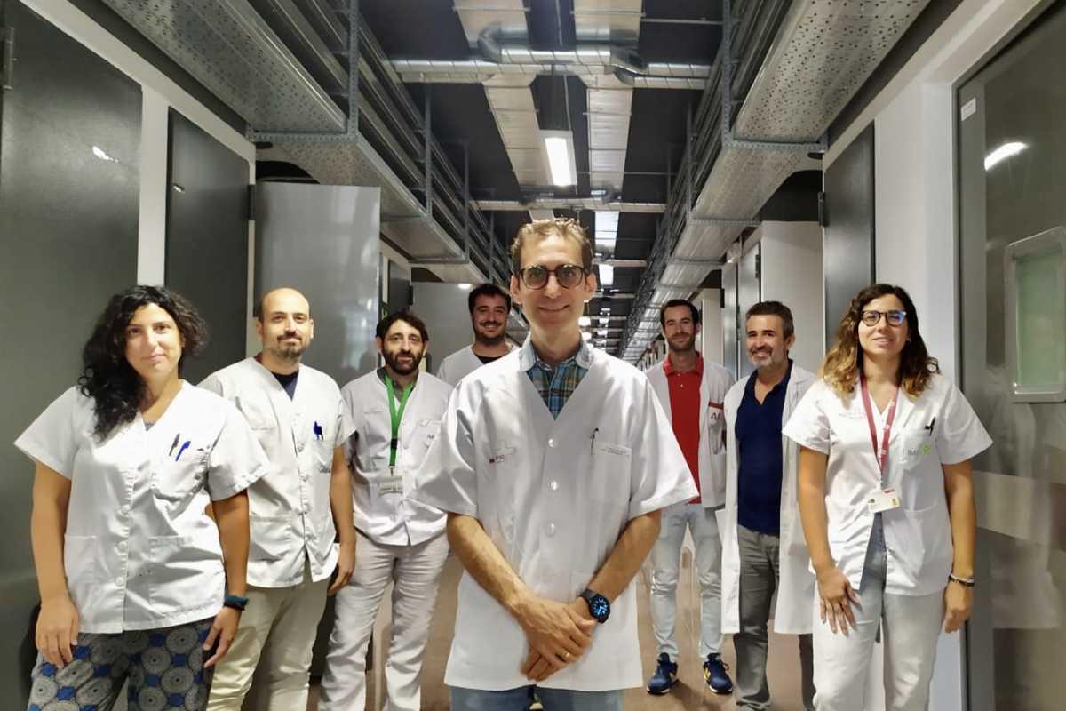 Los investigadores murcianos han desarrollado su propia tecnología para esta investigación. Foto: IMIB.