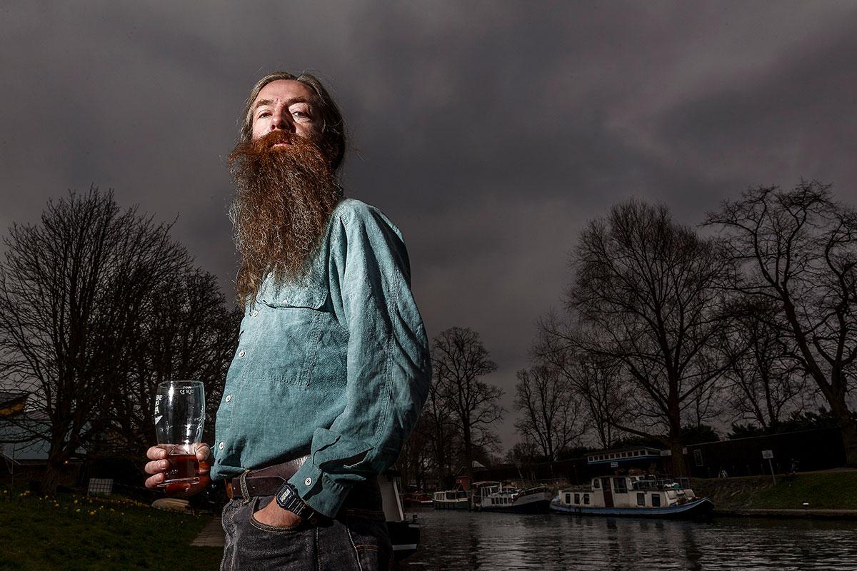 El gerontólogo Aubrey de Grey es uno de los mayores expertos en envejecimiento del mundo. FOTO: Carlos Garc�a Pozo.