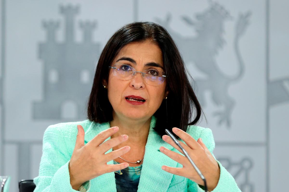 La ministra Carolina Darias ha intervenido este lunes en el 71 Comité Regional OMS-Euro.
