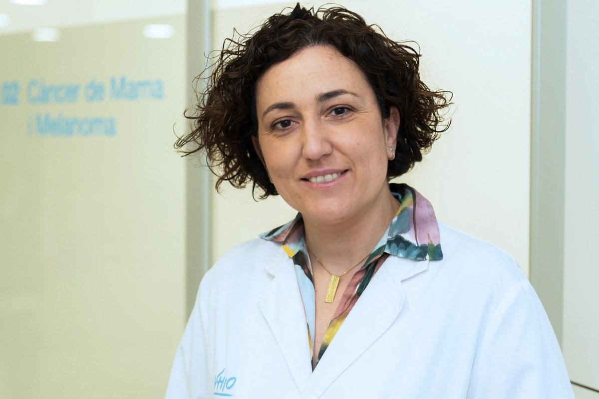 Cristina Saura, jefa del Grupo de Cáncer de Mama del VHIO y jefa de la Unidad de Cáncer de Mama del Hospital Universitario Vall d'Hebron.