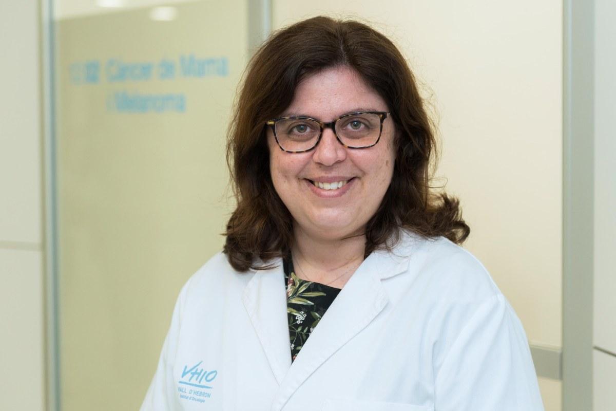 Mafalda Oliveira, del Servicio de Oncolog�a Médica del Hospital Universitario Vall d'Hebron.