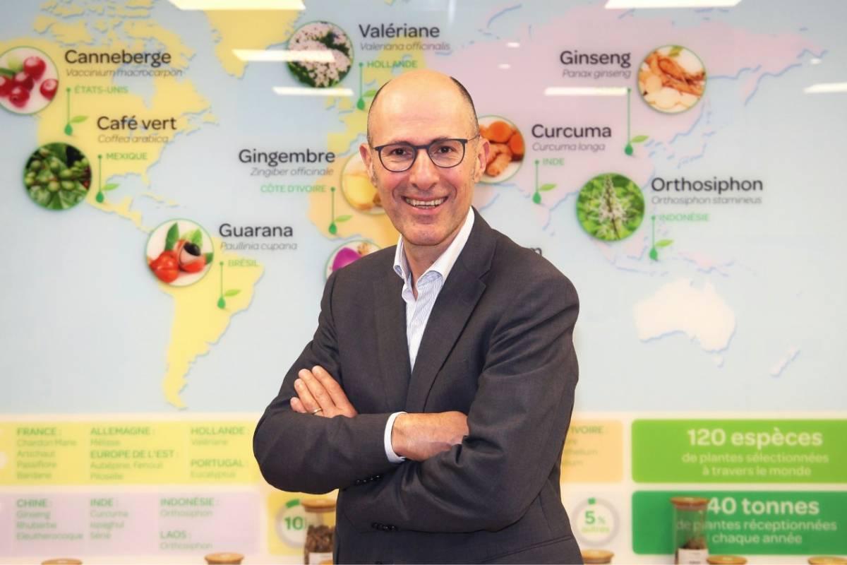 Eric Panijel cumple en octubre un año como presidente de Arkopharma, que facturó 205 millones de euros en el ejercicio 2020-2021.